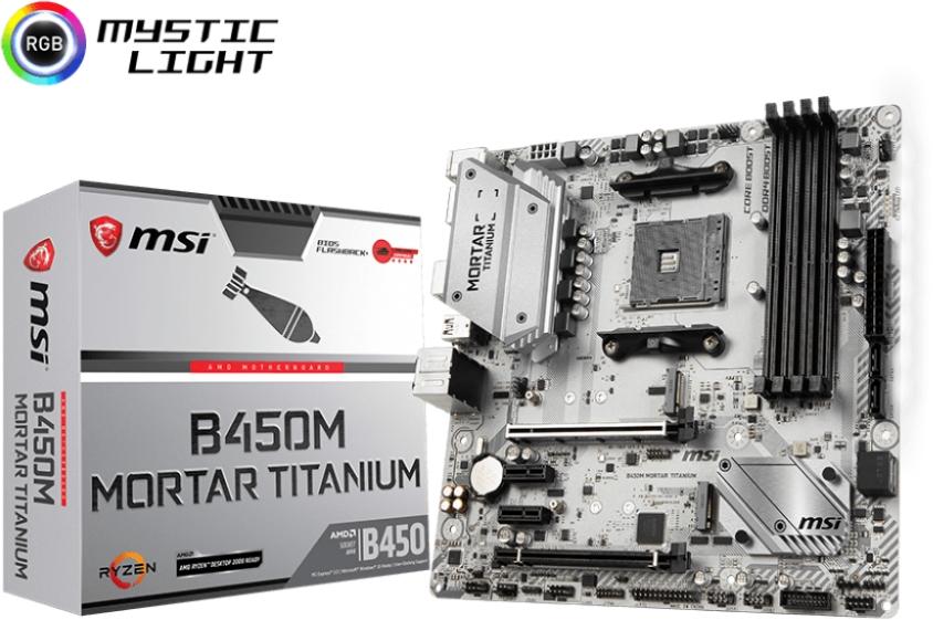 MSI B450M MORTAR TITANIUM (AM4) (D)