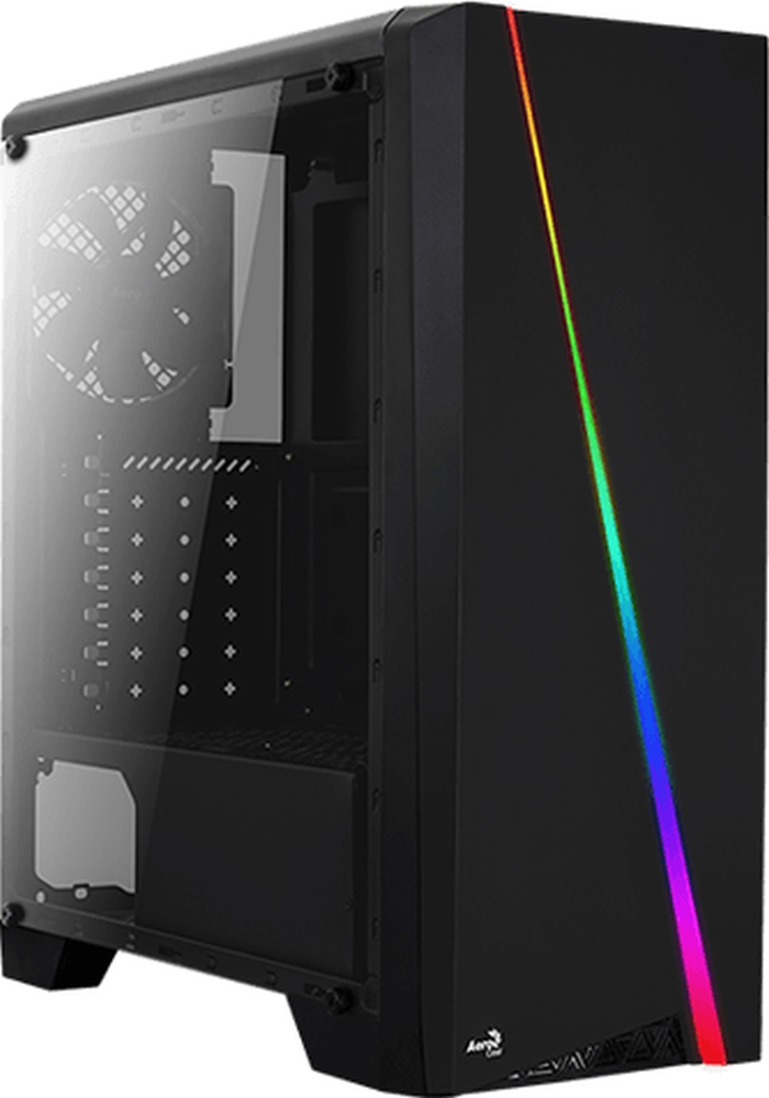 PC- Gehäuse AeroCool Cylon RGB Black
