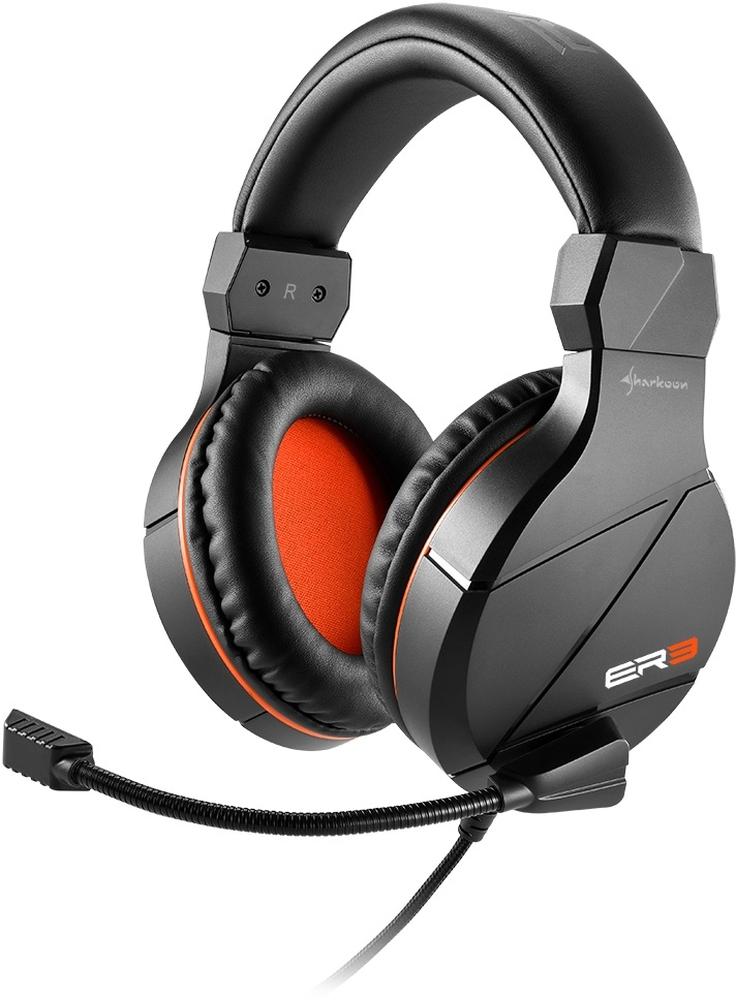 Headset Sharkoon Rush ER3 Black