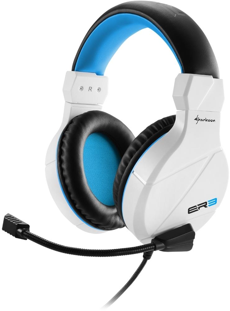 Headset Sharkoon Rush ER3 White