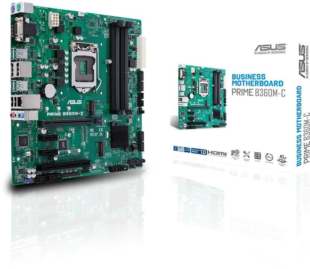 ASUS PRIME B360M-C/CSM (1151-V2) (D)
