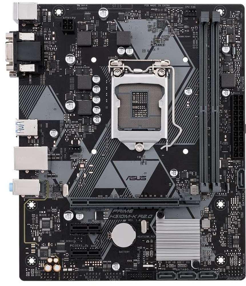 ASUS PRIME H310M-K R2.0 (1151-V2) (D)