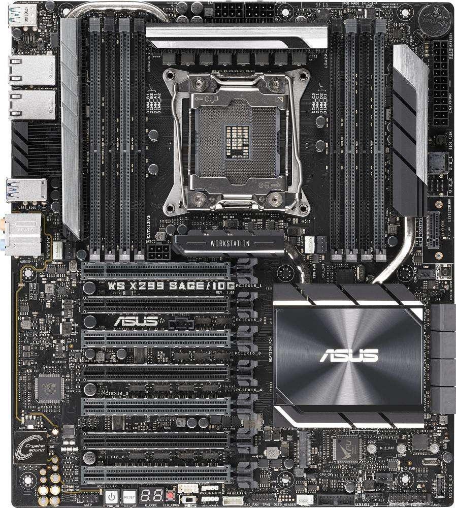 ASUS WS X299 SAGE/10G (2066) (D)