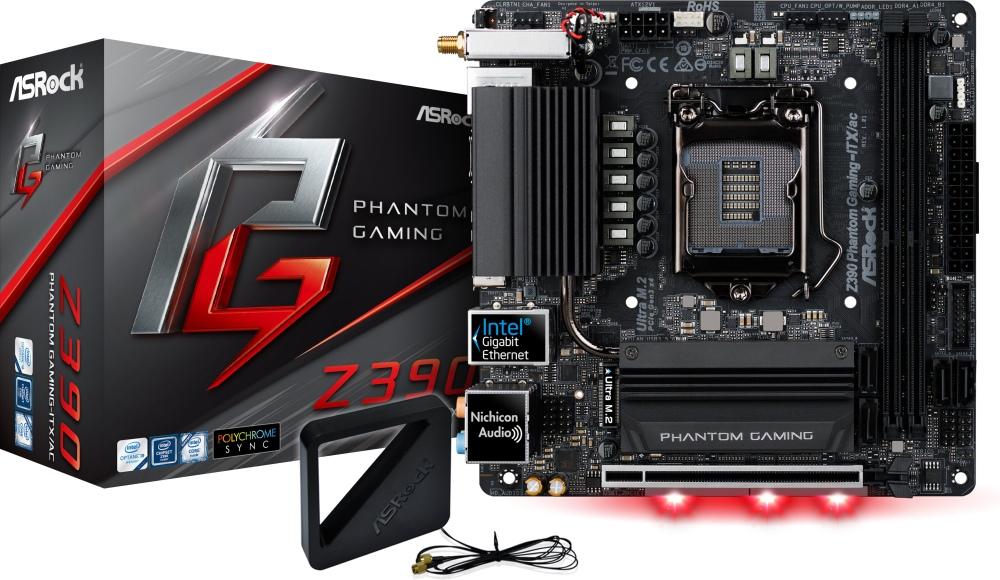 ASROCK Z390 PHANTOM GAMING ITX/AC (1151-v2) (D)