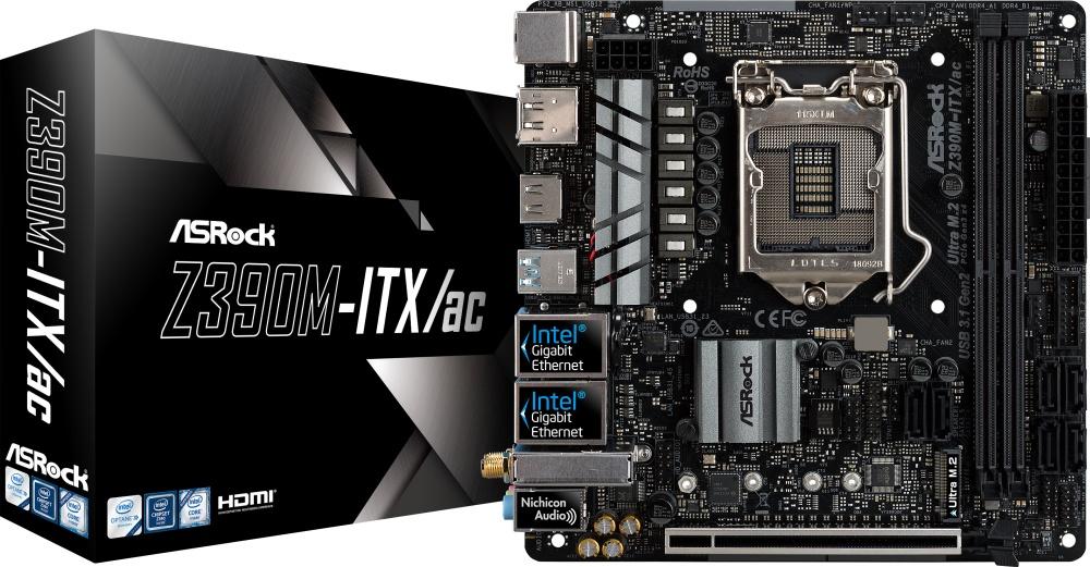 ASROCK Z390M-ITX/AC (1151-v2) (D)