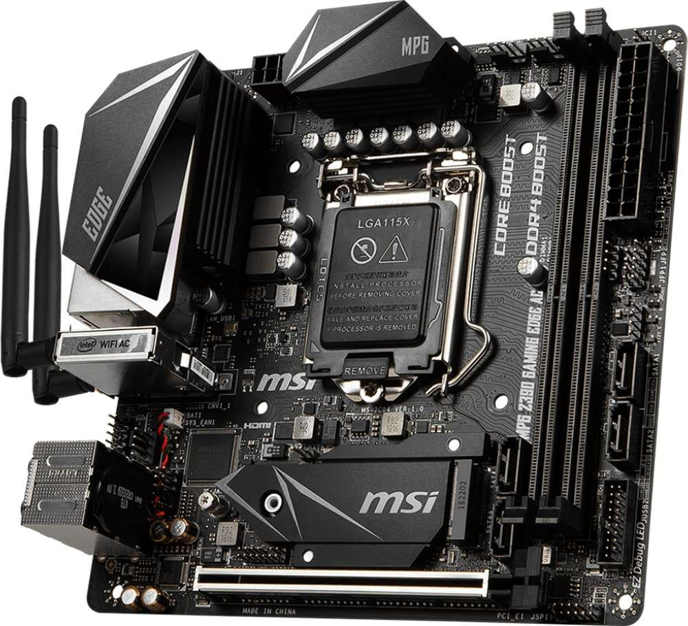 MSI MPG Z390I GAMING EDGE AC (1151-v2) (D)