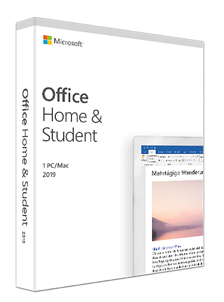 Microsoft Office 2019 Home and Student (PKC) deutsch (79G-05056)
