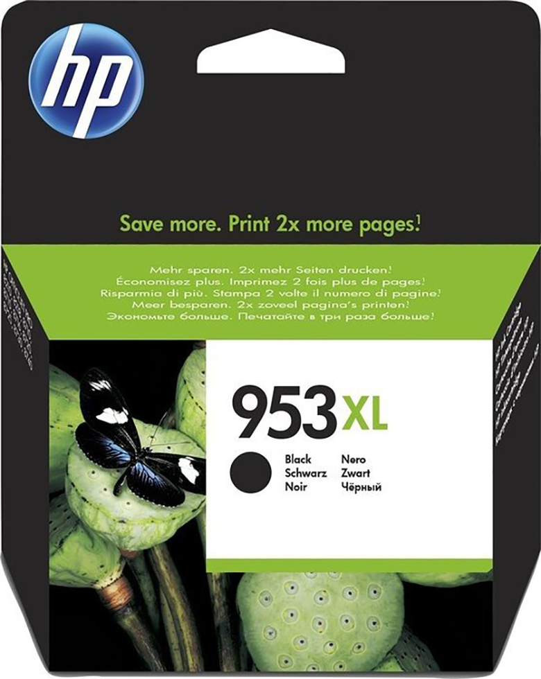 HP Tinte 953 XL black - L0S70AE