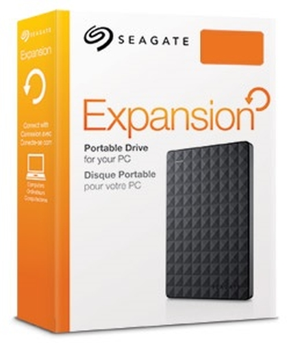 "HDD Extern Seagate 2,5"" 4TB Expansion Portable STEA4000400 USB 3.0 Micro-B schwarz"