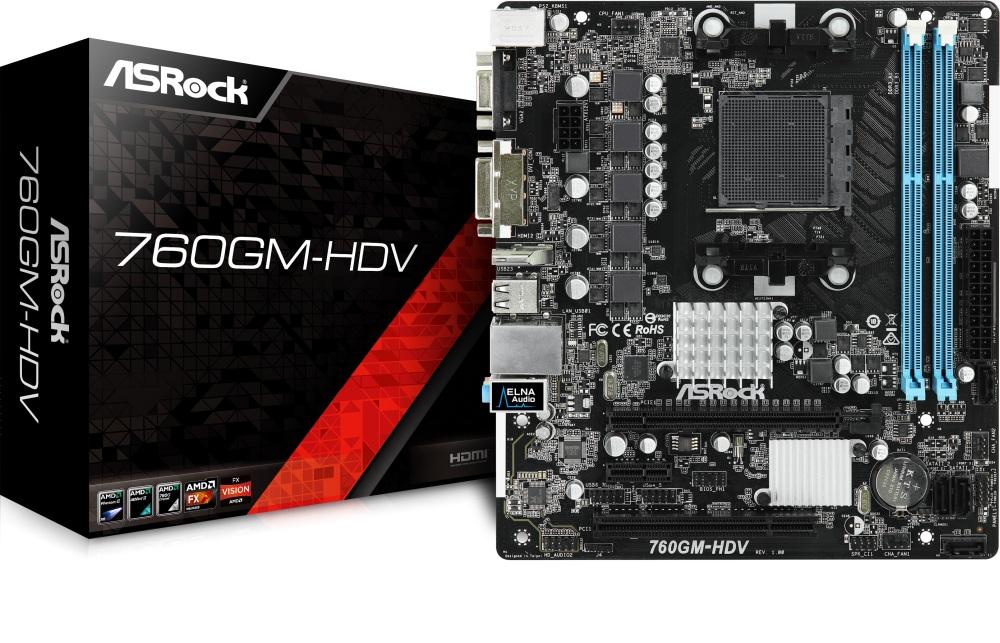 ASROCK 760GM-HDV (AM3+) (D)