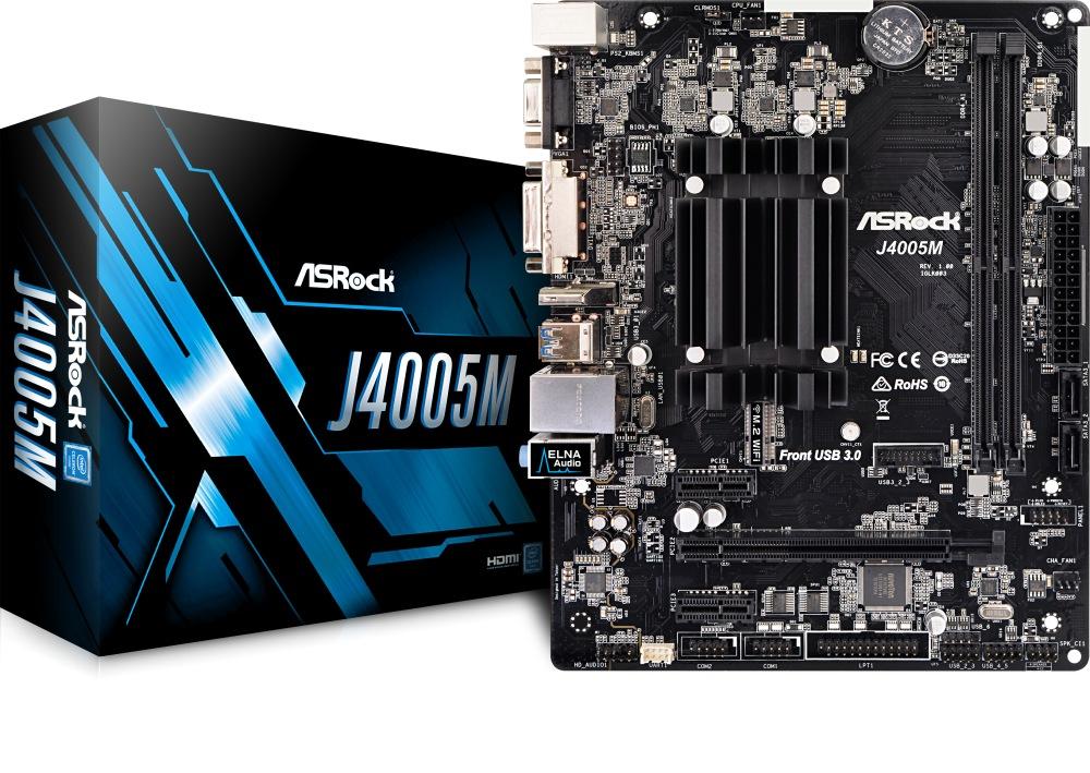 ASROCK J4005M (Intel CPU onboard) (D)