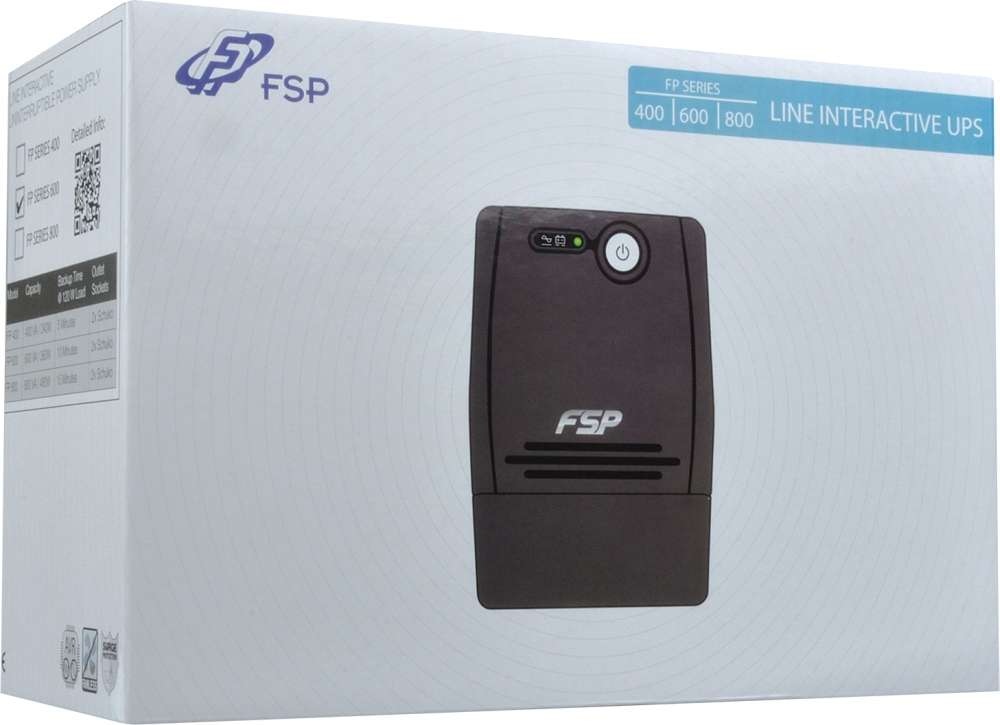 PC- Netzteil Fortron FSP FP 600 - USV