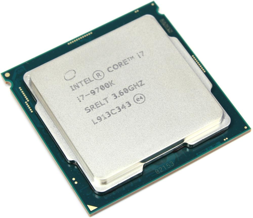 Intel Tray Core i7 Processor i7-9700K 3,60Ghz 12M Coffee Lake