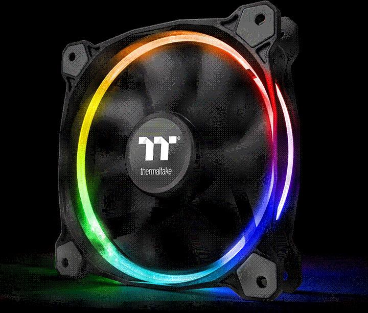 PC- Gehäuselüfter Thermaltake Riing 12 PLUS RGB SYNC Edition - 3er Pack