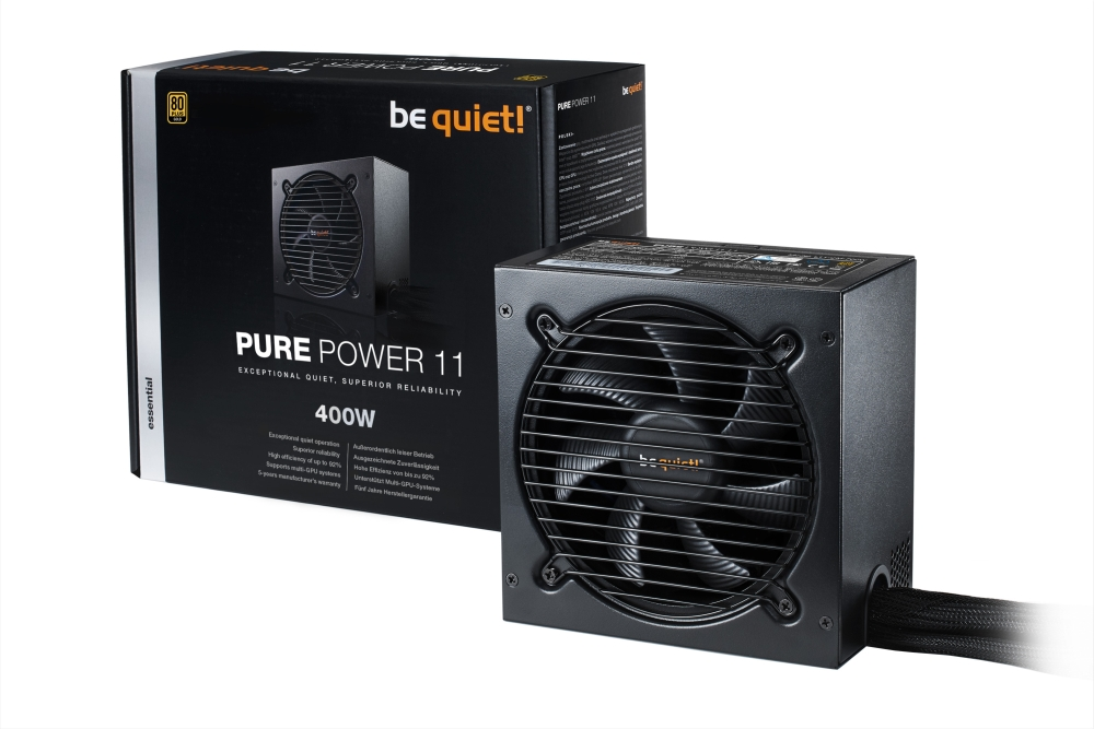 PC- Netzteil Be Quiet Pure Power 11 400W