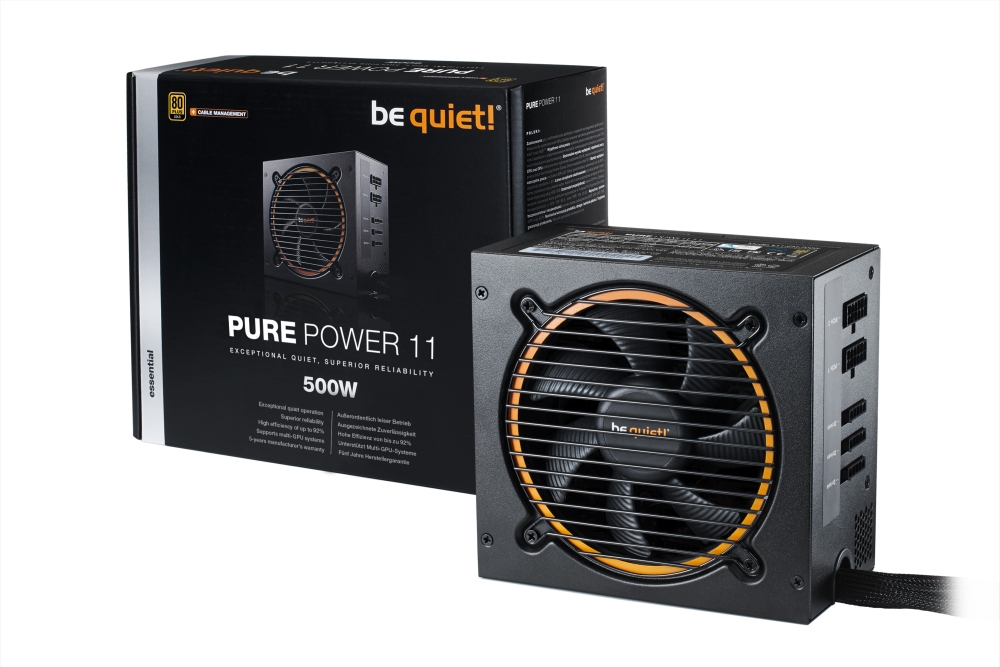 PC- Netzteil Be Quiet Pure Power 11 CM 500W