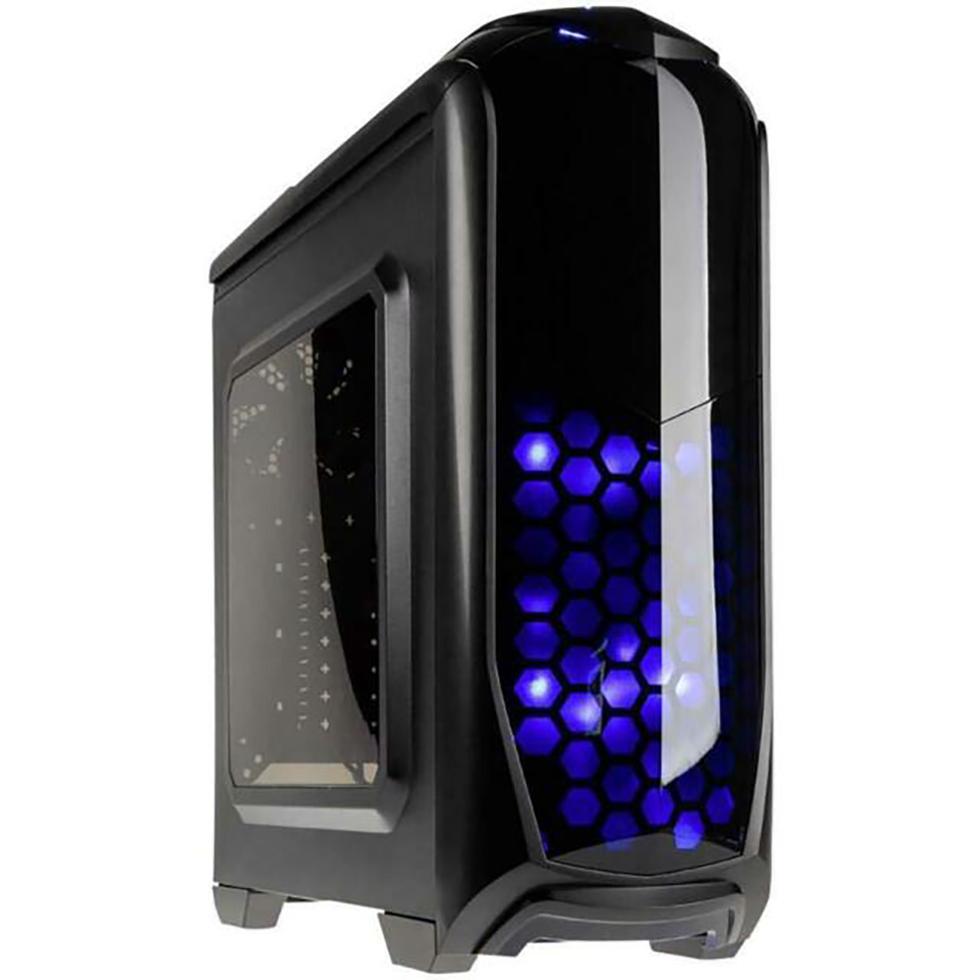 PC- Gehäuse Kolink Aviator Blue