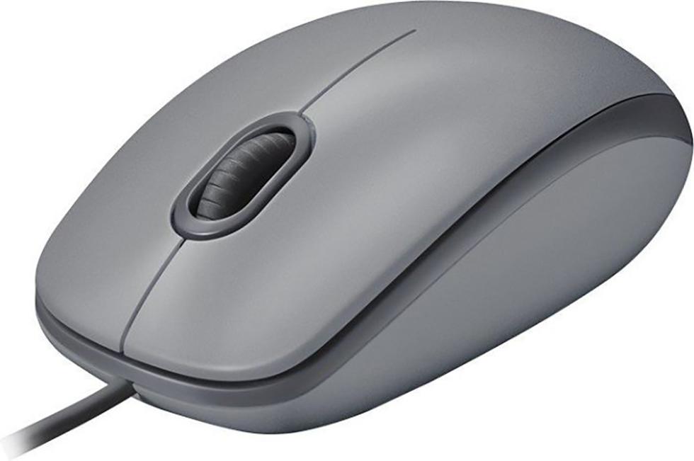 Mouse Logitech M110 silent mittelgrau (910-005490)