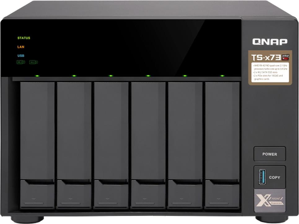NAS Server QNAP TS-673-8G