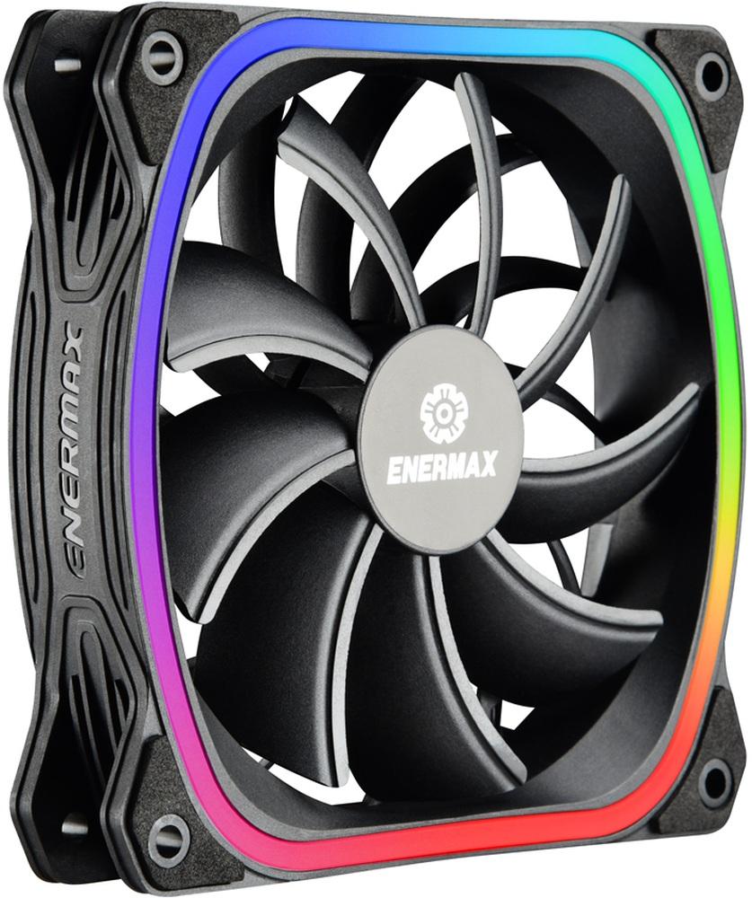 PC- Gehäuselüfter Enermax SquA RGB UCSQARGB12P-BP3