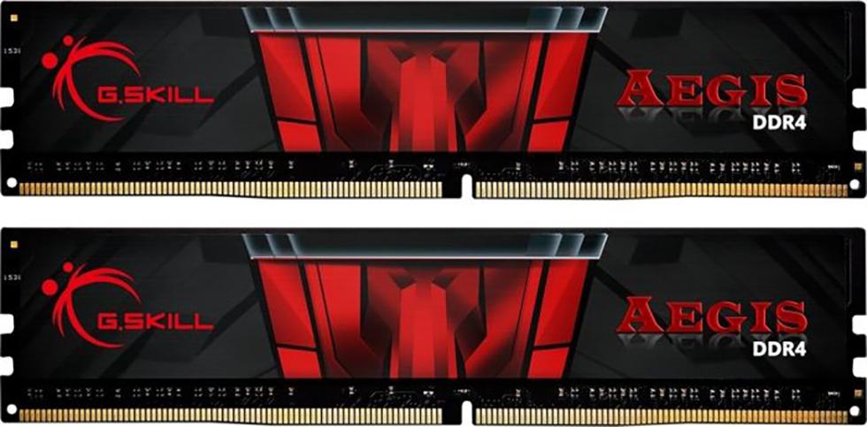 DDR4 32GB KIT 2x16GB PC 3000 G.Skill Aegis F4-3000C16D-32GISB