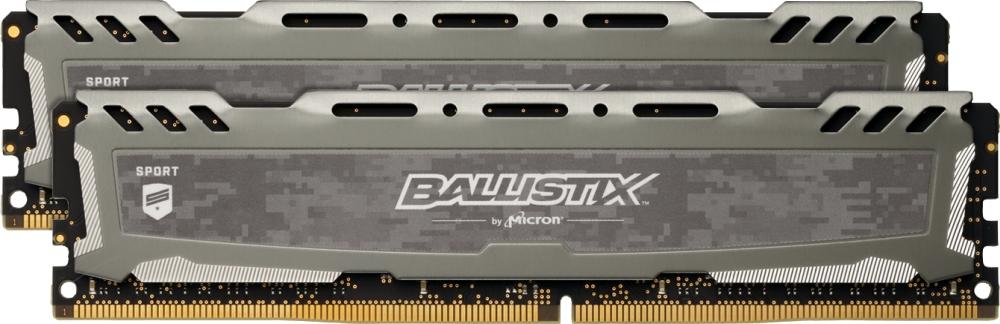 DDR4 16GB KIT 2x8GB PC 3200 Crucial Ballistix Sport LT BLS2K8G4D32AESBK