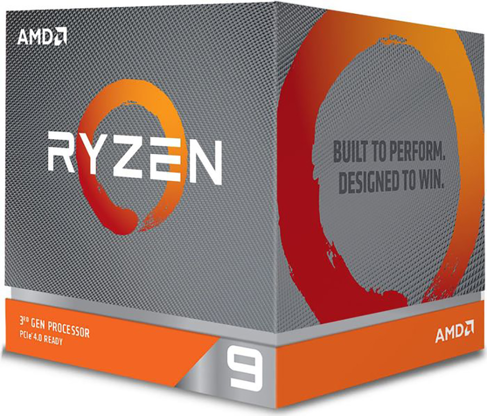 AMD Ryzen 9 3900X Box AM4 (3,800GHz) with Wraith Spire cooler with RGB LED