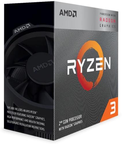 AMD Ryzen 3 3200G Box AM4 (4,000GHz) YD3200C5FHBOX incl. Wraith Stealth Cooler
