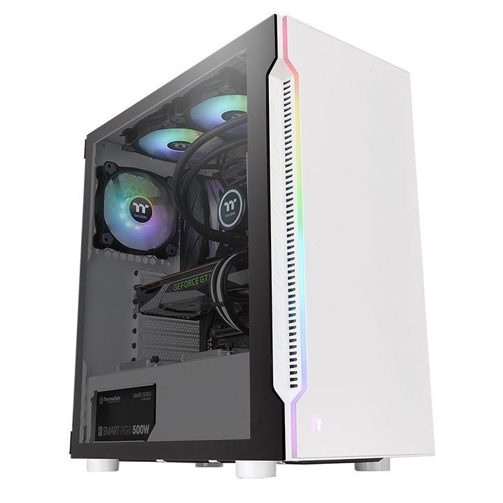 PC- Gehäuse Thermaltake H200 TG Snow RGB