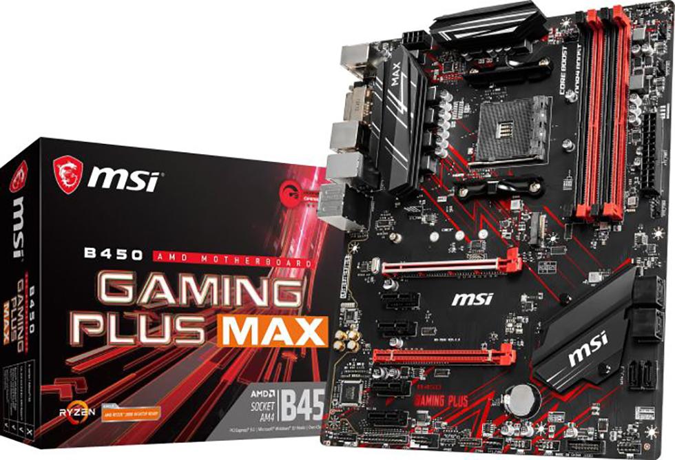 MSI B450 GAMING PLUS MAX (AM4) (D)