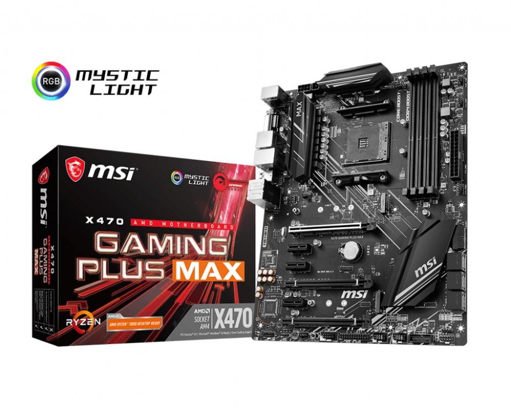 MSI X470 GAMING PLUS MAX (AM4) (D)