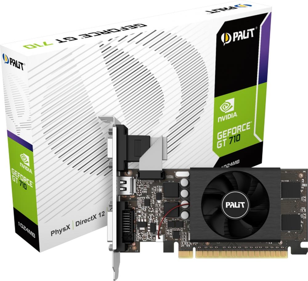 VGA Palit GeForce® GT 710 1GB GDDR5