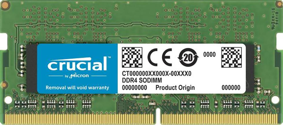 S/O 4GB DDR4 PC 2666 Crucial CT4G4SFS8266 1x4GB