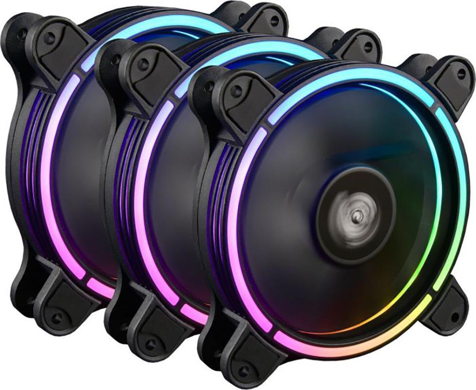 PC- Gehäuselüfter Enermax T.B.RGB 3er Pack UCTBRGBA12P-BP3