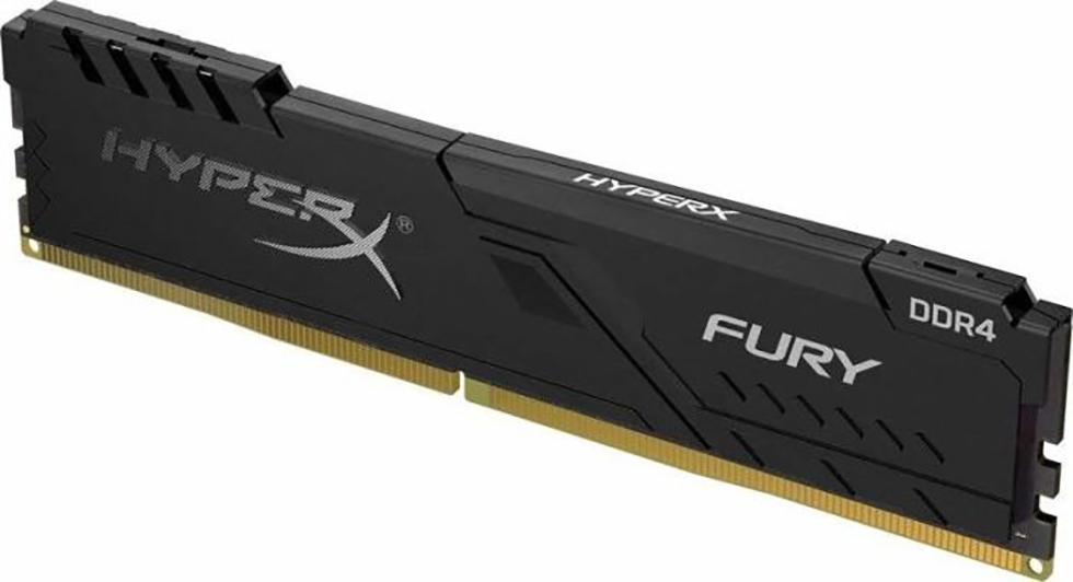 DDR4 16GB PC 2400 Kingston HyperX FURY Black HX424C15FB3/16   1x16GB