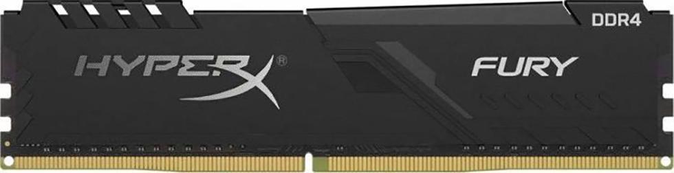DDR4 4GB PC 2666 Kingston HyperX FURY Black HX426C16FB3/4 1x4GB