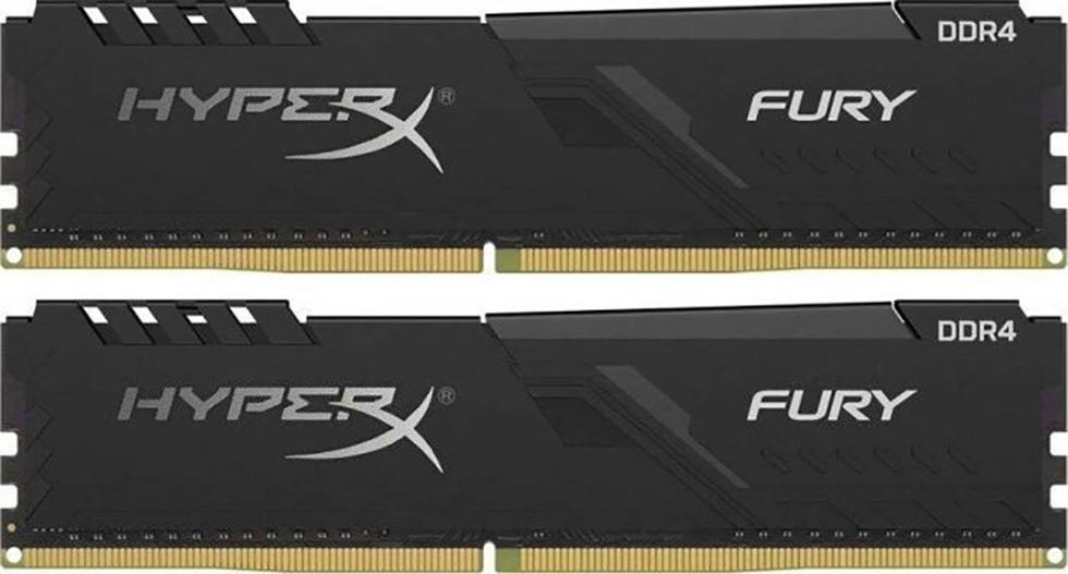 DDR4 16GB KIT 2x8GB PC 3000 Kingston HyperX FURY Black HX430C15FB3K2/16