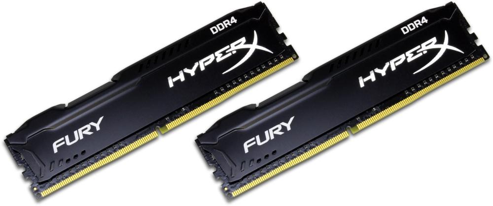 DDR4 32GB KIT 2x16GB PC 3000 Kingston HyperX FURY Black HX430C15FB3K2/32