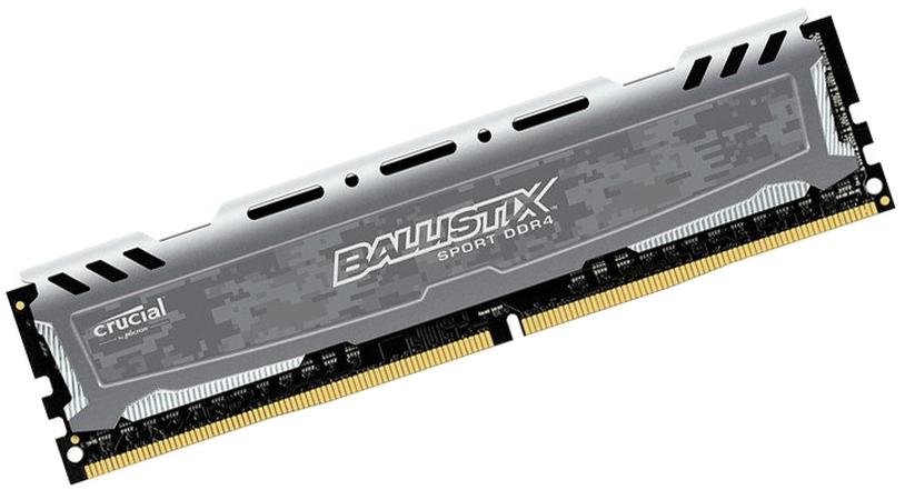 DDR4 8GB PC 3000 Crucial Ballistix Sport LT BLS8G4D30AESBK