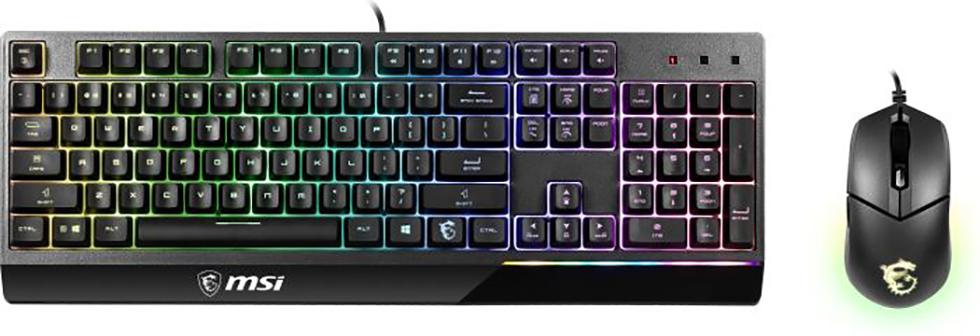 Keyboard MSI Vigor GK30 COMBO DE - GAMING