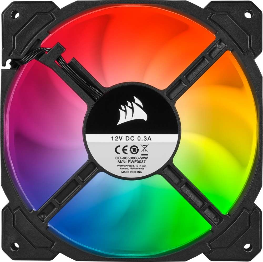 PC- Gehäuselüfter Corsair SP140 RGB PRO Dual Fan Kit (CO-9050096-WW)