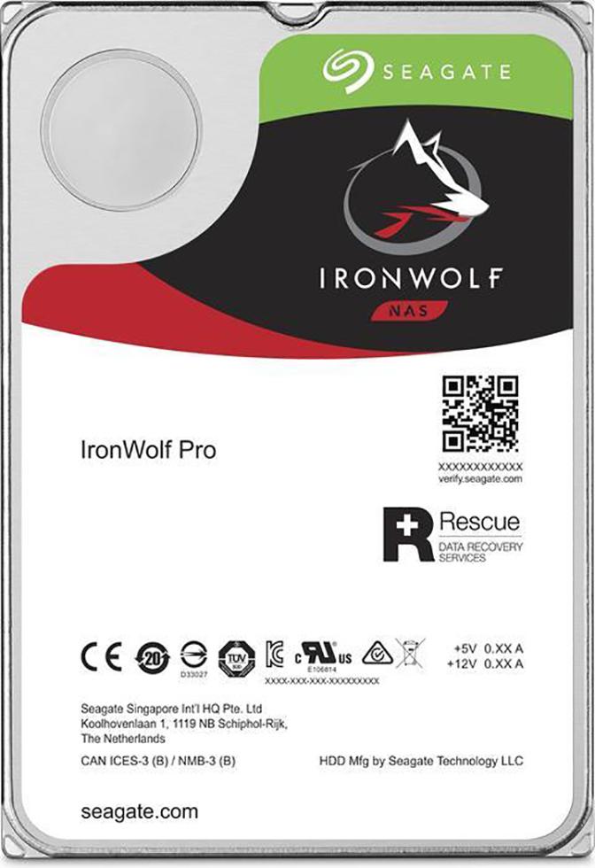 HDD Seagate IronWolf Pro NAS ST6000NE000 6TB Sata III 256MB (D)