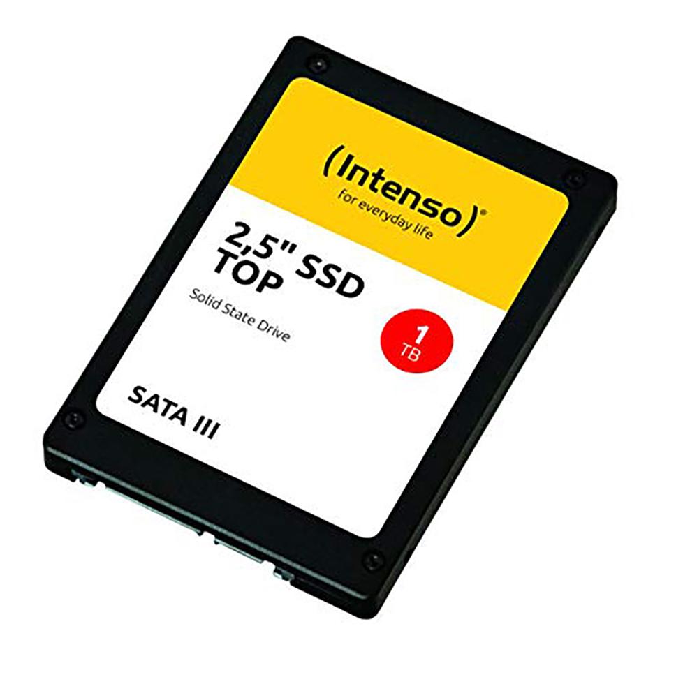 """SSD Intenso 1TB TOP SATA3 2,5"""" intern 3812460"""