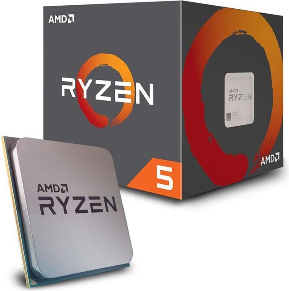 AMD Ryzen 5 1600 Box AM4 (3,200GHz) YD1600BBAFBOX with Wraith Spire cooler