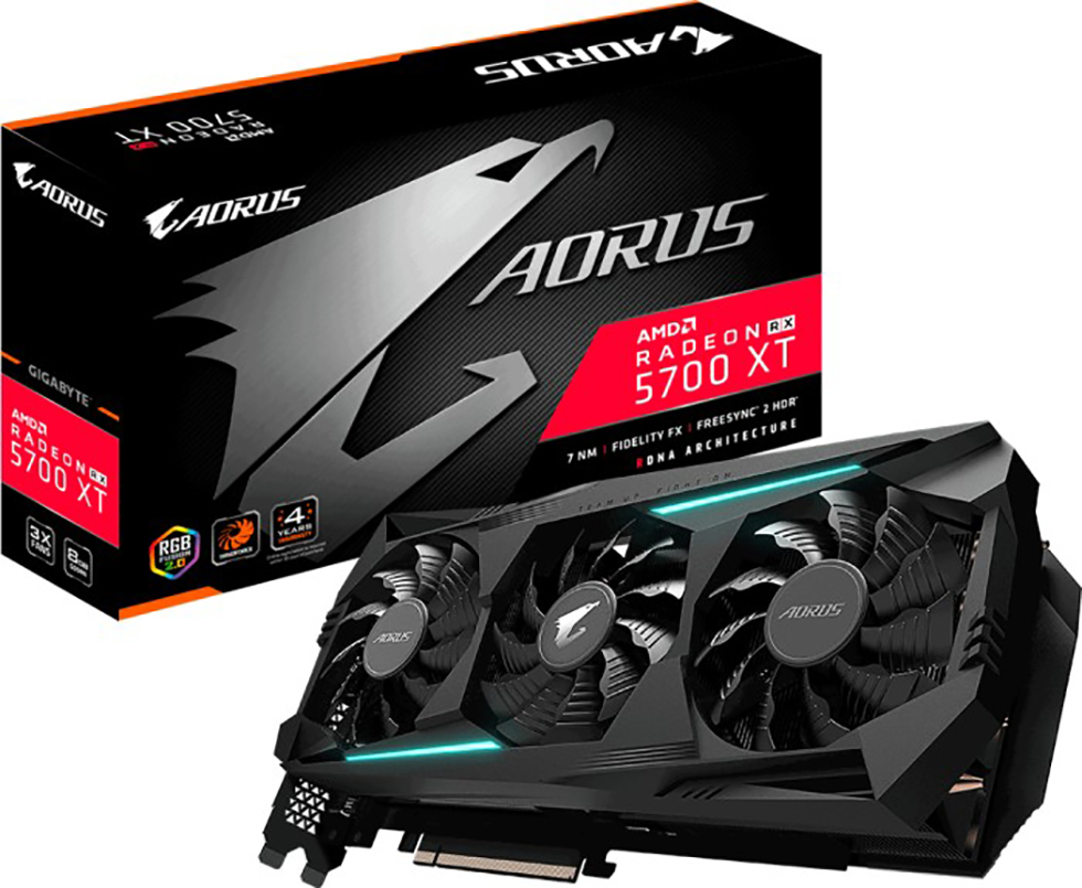 VGA Gigabyte Radeon RX 5700 XT 8GB AORUS