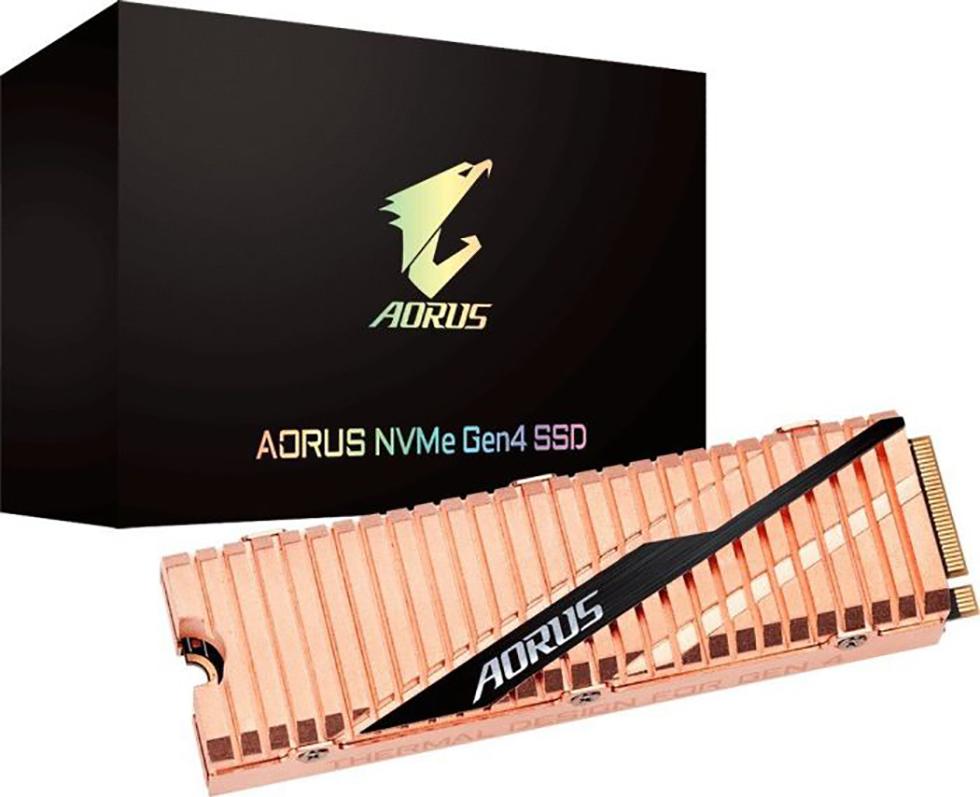SSD GIGABYTE AORUS 500GB M.2 PCIe GP-ASM2NE6500GTTD