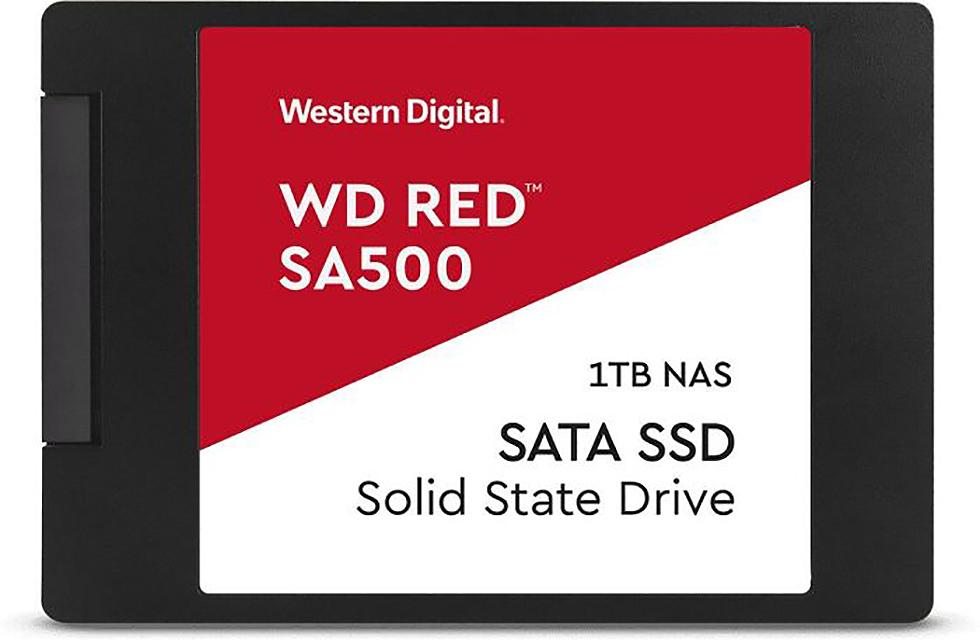 "SSD WD RED SA500 1TB NAS Sata3 2,5"" 7mm WDS100T1R0A 3D NAND"