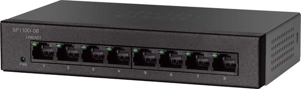 Cisco Small Business Switch 8-port 10/100 SF110D-08