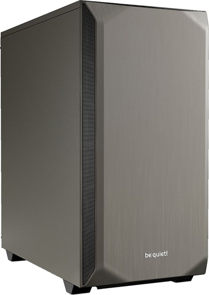 PC- Gehäuse BeQuiet Pure Base 500 metallic grau