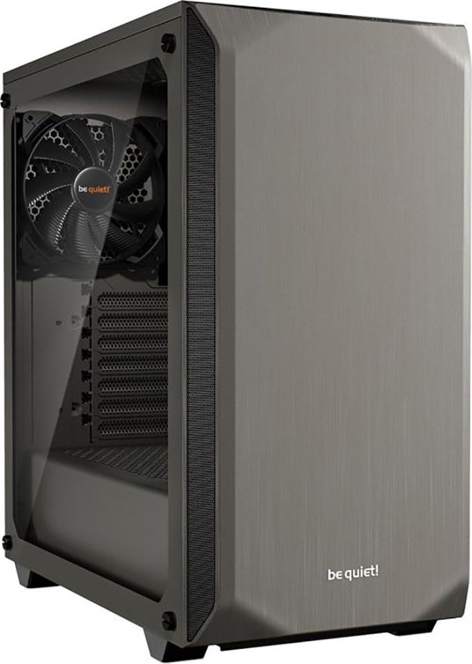 PC- Gehäuse BeQuiet Pure Base 500 Window - metallic grau